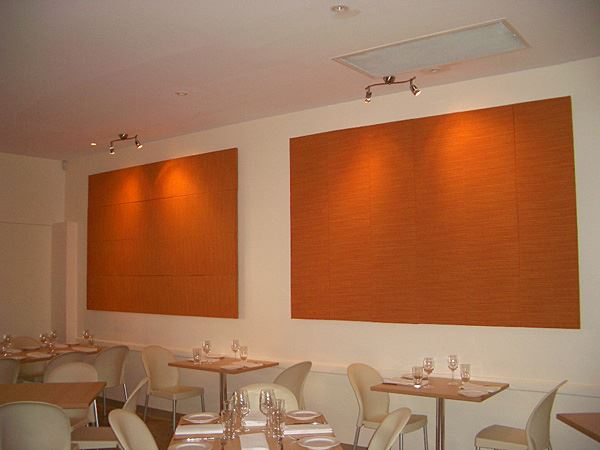 Soundproof colour wall panels