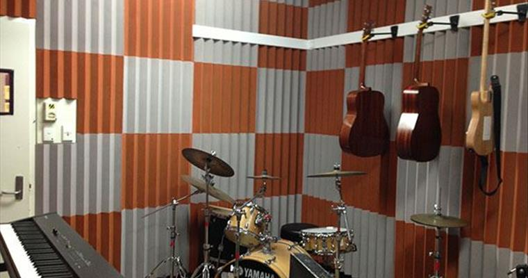 Sound Room using Echohush sound absorbing decorative panels