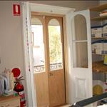 External French door